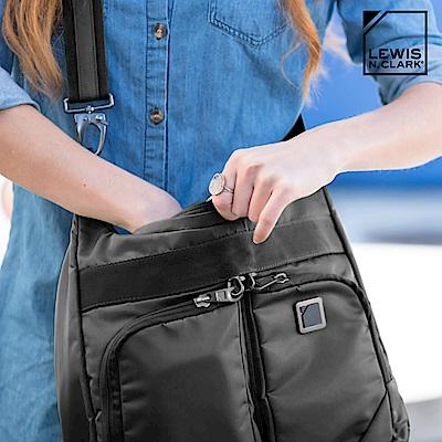 Lewis N. Clark RFID屏蔽斜背包 5007【黑色】