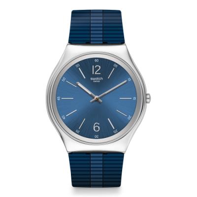 Swatch Skin Irony 42 超薄金屬手錶 BIENNE BY DAY比爾工藝-42mm