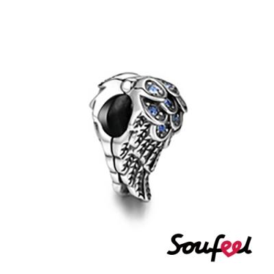 SOUFEEL索菲爾 925純銀珠飾 天使之翼 串珠