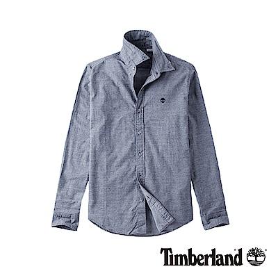 Timberland 男款深藍寶石色長袖襯衫|A1NKX