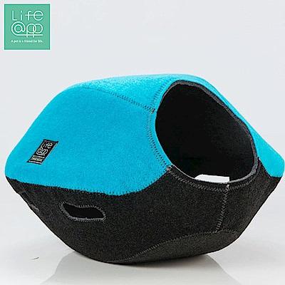 Lifeapp 寵愛貓窩-FUN樂雙色版-海軍藍黑