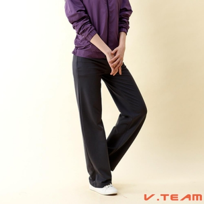 【V.TEAM】女款韻律褲裙-灰
