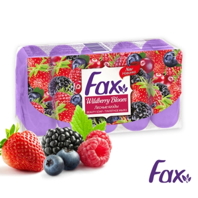 土耳其FAX 野莓潤膚保濕香皂70g(5入/組)