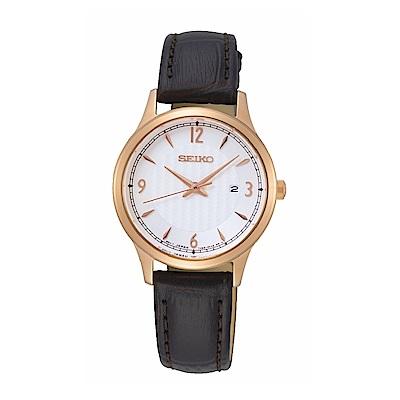 SEIKO 精工 完美情人石英腕錶/7N82-0JN0K/SXDG98P1