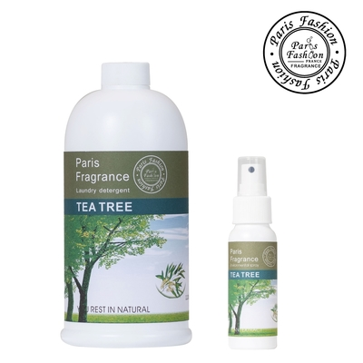 Paris fragrance巴黎香氛-茶樹淨化酒精噴霧70ml+1100ml