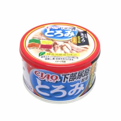 日本 CIAO 多樂米濃湯罐 A-57 排尿配方 雞肉&鮪魚&干貝 80g
