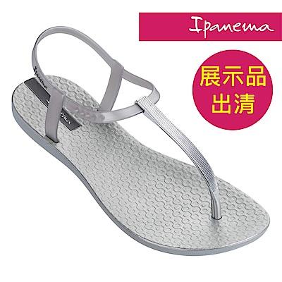 IPANEMA 女 經典雅緻 T型涼鞋-銀
