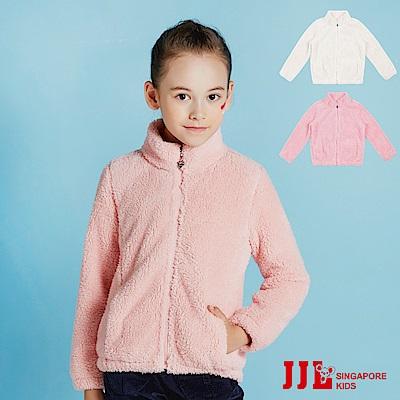 JJLKIDS 保暖柔軟毛絨休閒外套(3色)