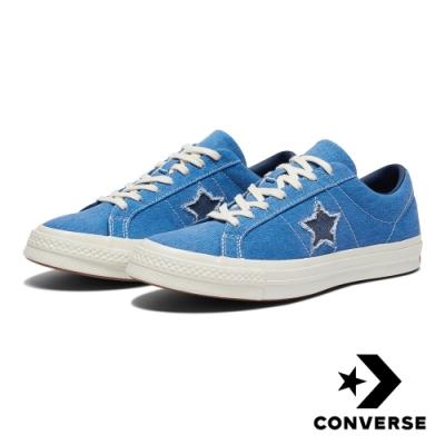 CONVERSE ONE STAR 男女休閒鞋 164359C 藍