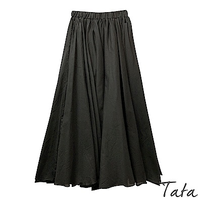 棉麻大裙擺半身裙 共二色 TATA-F
