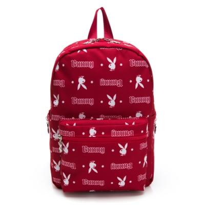 PLAYBOY-  後背包 翻轉兔系列 -紅色