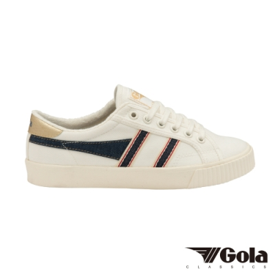 Gola 女帆布鞋Tennis Mark Cox Selvedge 白/丹寧