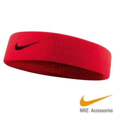 NIKE 單色彈性頭帶2.0-紅