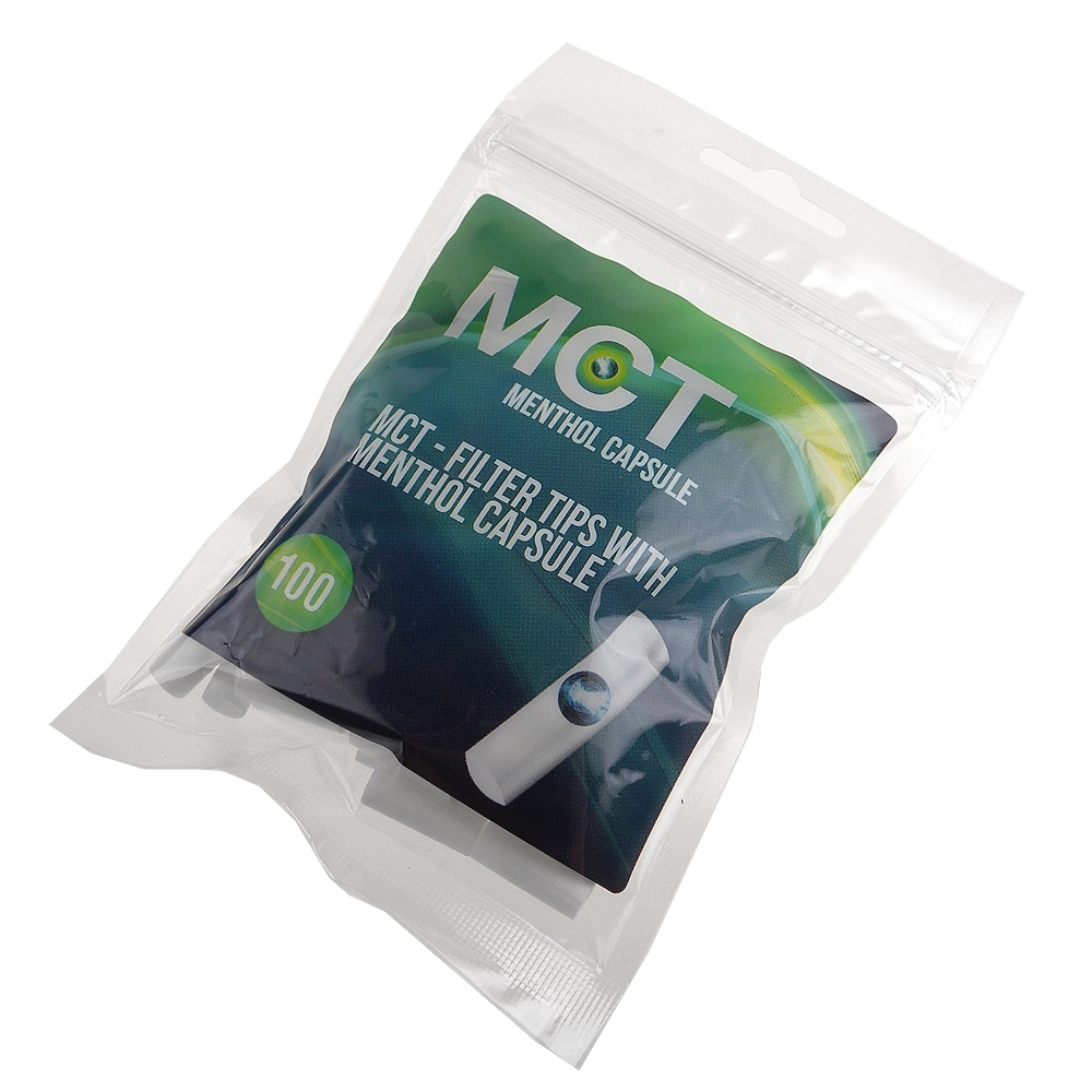 MCT-Menthol Capsule-捲煙專用爆珠晶球薄荷濾嘴-8mm*2包