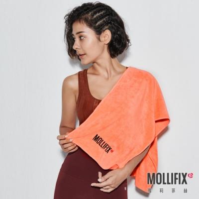 Mollifix 瑪莉菲絲 ACTIVE GIRL超吸水運動毛巾(重訓橘)