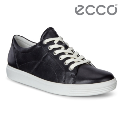 ECCO SOFT CLASSIC W 經典簡約休閒鞋 網路獨家 女鞋 黑色