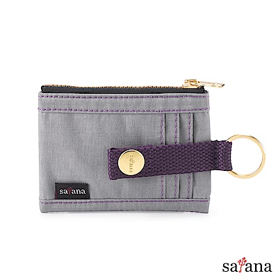 satana - 繽紛卡片夾/零錢包 - 星耀灰