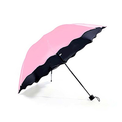 遇水變色晴雨傘/變色傘 2入 (五色可選)
