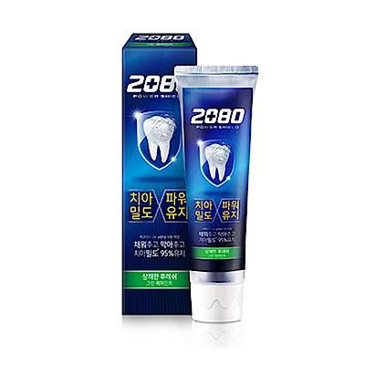 韓國2080 強盾牙齒保健牙膏(清新薄荷)綠120gX2入