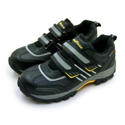 GOODYEAR 固特異透氣鋼頭防護認證安全工作鞋 雷霆系列 黑銀黃 83910
