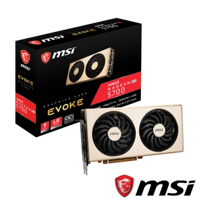 MSI微星 Radeon RX 5700 EVOKE OC 顯示卡