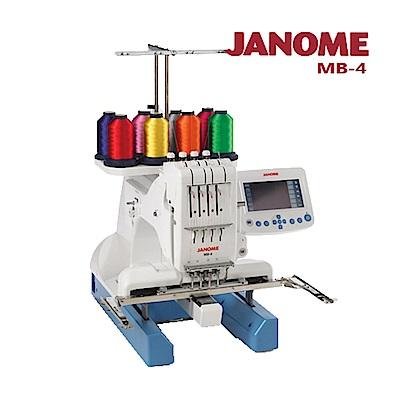 日本車樂美JANOME MB-4 職業用刺繡機