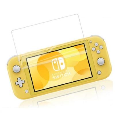 Nintendo任天堂 Switch Lite高透光2.5D弧邊9H鋼化玻璃貼