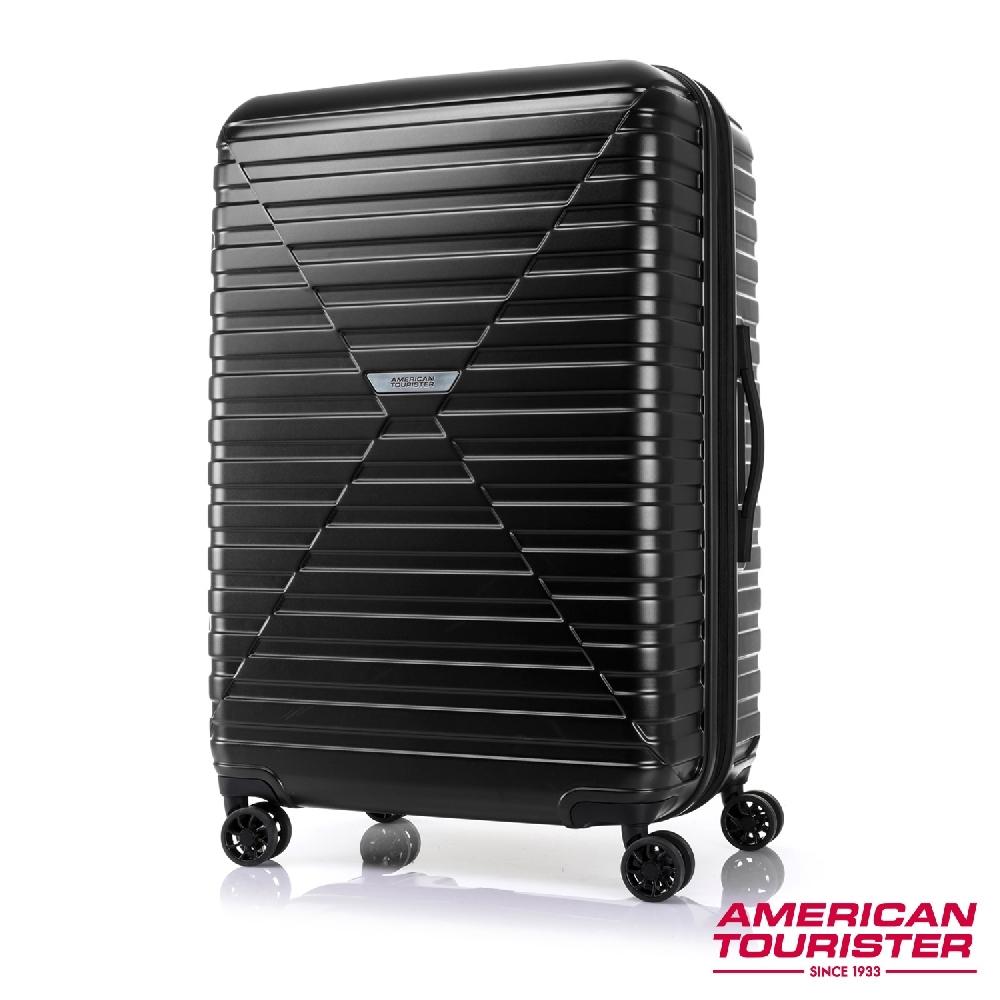 AT美國旅行者 29吋 Vardo 4:6開闔PC防盜拉鍊可擴充TSA行李箱(三色任選)