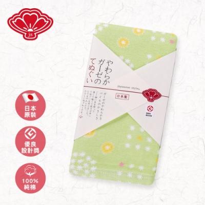 【日纖】日本製純棉長巾-小春日和 34x90cm