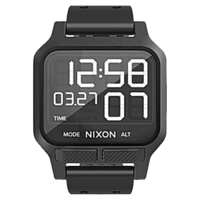 NIXON THE HEAT 極限運動輕薄電子腕錶-全黑-A1320-001-39mm