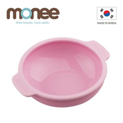 韓國monee 100%白金矽膠幼童智慧矽膠碗/4色