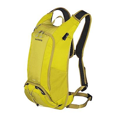 【SHIMANO】UNZEN 14L 自行車背包 橄欖暖黃