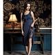 華歌爾睡衣-摩登 L-LL 性感裙裝(藍)超細纖維 product thumbnail 1