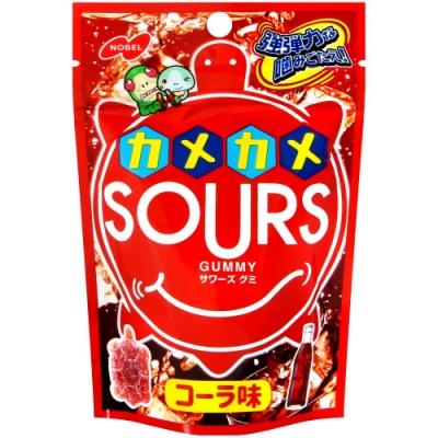 NOBEL SOURS-烏龜造型可樂風味軟糖(45g)