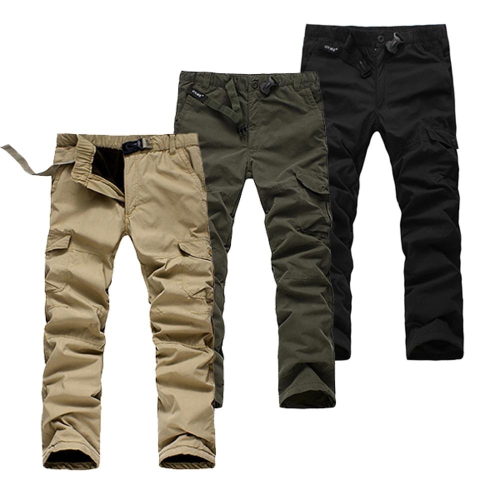 美國熊 寒流剋星 防風 保暖 騎車不透風 鋪棉內裡 冬季六袋款工作褲
