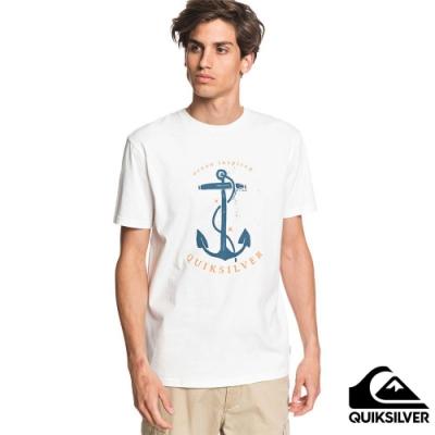 【QUIKSILVER】SAVIORS ROAD SS T恤 白色