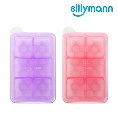 韓國sillymann-100%鉑金矽膠副食品分裝盒-6格 (顏色任選)