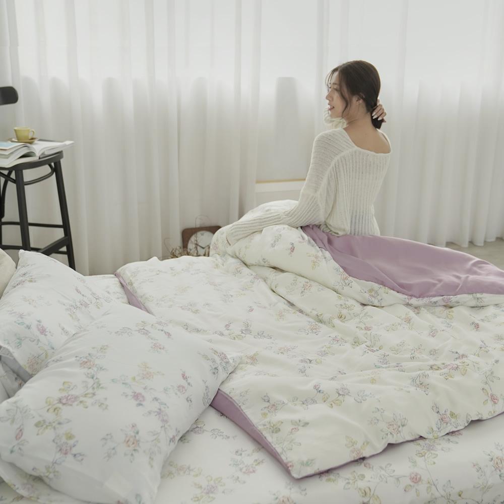 BUHO 台製300織100%TENCEL純天絲床包枕套三件組-雙人(多款任選-A)