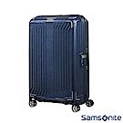 Samsonite新秀麗 30吋Lite-Box耐衝擊Curv垂直線條登機箱 深藍