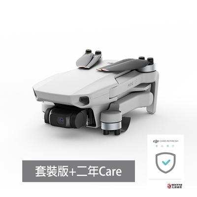 DJI Mini SE 輕型空拍機-暢飛套裝+二年版Care