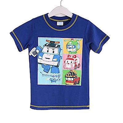 POLI純棉防蚊布短袖T恤 k50317 魔法Baby