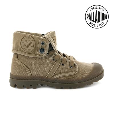 Palladium PALLABROUSE BAGGY帆布靴-女-咖啡