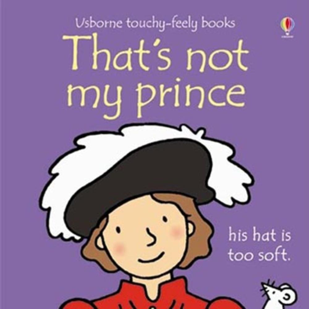 That's Not My Prince 那不是我的王子觸摸書