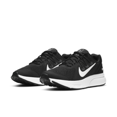 NIKE 慢跑鞋 訓練 緩震 運動鞋 女鞋 黑 CQ9267001 ZOOM SPAN 3
