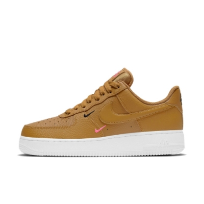 Nike Air Force 1 07 Essential 女休閒鞋 卡其-CT1989700