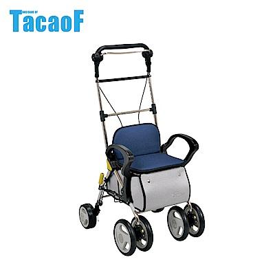 日本TacaoF幸和 高背標準款助步車-藍色