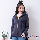 betty's貝蒂思 休閒舒適連帽外套(深藍)