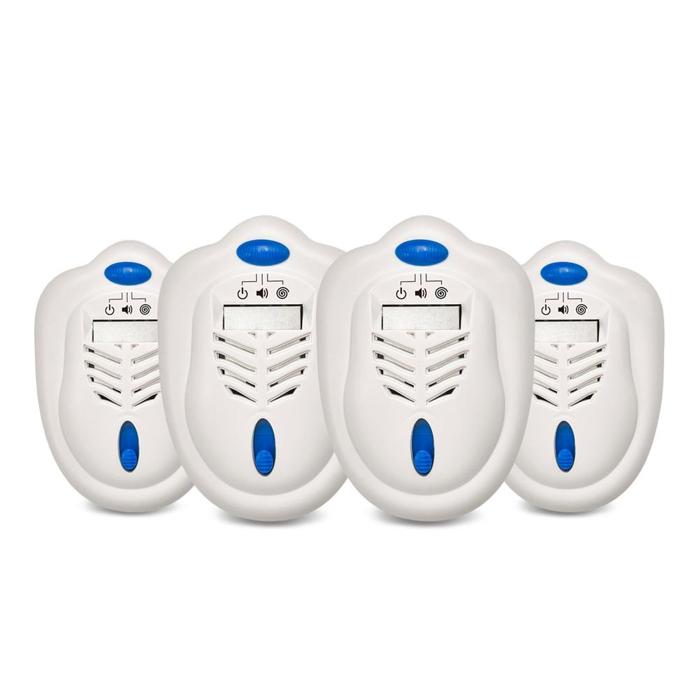 DigiMax 雙效型可攜式驅蚊器(超值4入組)UP-121