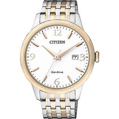 CITIZEN 簡單時尚風光動能腕錶(BM7304-59A)