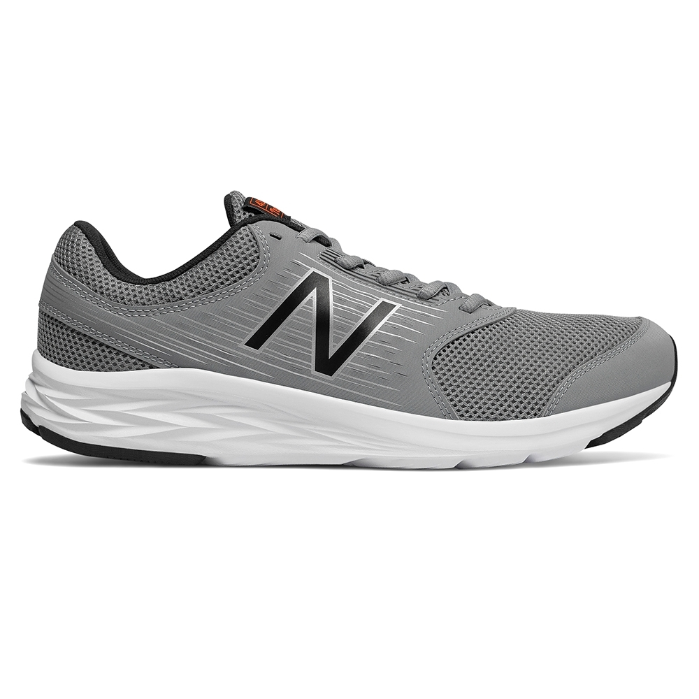 New Balance 緩震跑鞋 M411LG1 男 灰色